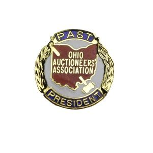 Jewelry - Ohio Auctioneers' Association Past President Lapel